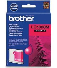 LC-1000M Картридж для Brother DCP130C/ 330С/ 540, MFC-240C/ 440CN/ 465CN/ 660CN/ 885CW/ 5460CN/ 5860CN (500 стр.) Magenta