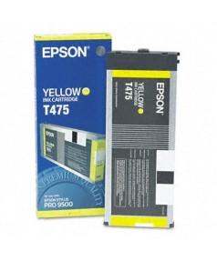 T475 / T475011 Картридж для Epson Stylus Pro 9500, Yellow