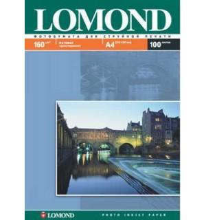160 Бумага LOMOND A4 INC JET 160 г/ м2 100 л. матовая односторонняя [0102005]