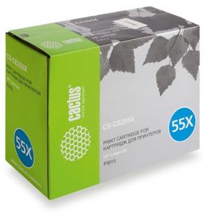 CE255X совместимый Картридж Cactus CS-CE255XS для HP LJ 3010/3015, черный (12500стр.)