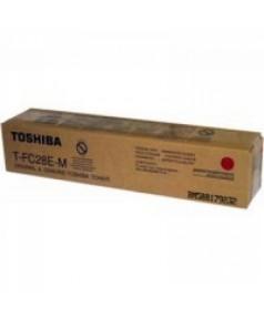 T-FC28EM Тонер Toshiba для e-STUDIО2330C/2820C/3520C/4520C малиновый, ресурс – 24 000 отпечатков