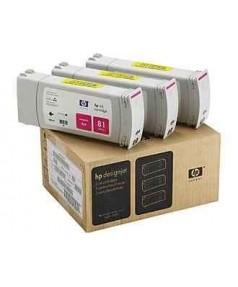 C5068A HP 81 Комплект пурпурных картриджей для графопостроителей DesignJet 5000/5500, 3шт. по 680 мл.