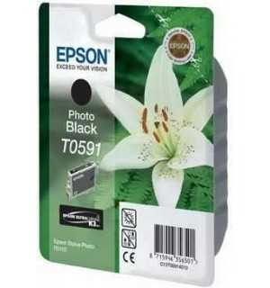 T0591 / T059140 Картридж для Epson Stylus Photo R2400 Photo Black (440 стр.)