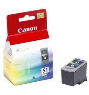 CL-51 [0618B001] Цветной картридж большой к Canon Pixma MP150/ MP170/ MP180/ MP450; iP1200/ iP1300/ iP1600/ iP1700/ iP2200/ iP6210/ iP6220, MX300, MX310 (545стр.)