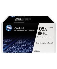 CE505D HP 05A Двойная упаковка картриджей для HP LJ P2030/ P2035/ P2050/ P2055 (2300 стр. х 2)