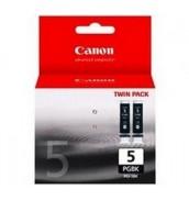 PGI-5Bk(2) [0628B030] Чернильница к Canon PIXMA MP500/ MP510/ MP530/ MP800/ MP810/ MP830/ MP950/ iP3300/ iP4200/ iP4300/ iP5200/ iP5300, iX4000/ iX5000 Photo-Black (360 стр.) двойная упаковка
