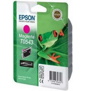 T0543 / T054340 Картридж EPSON Stylus Photo R800/ R1800 Magenta (400стр.)