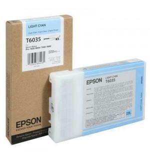 T6035 / T603500 Картридж для Epson Stylus Pro 7800/ 7880/ 9800/ 9880, Light-Cyan (220 мл.)