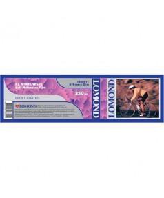 Рулон пленки LOMOND, Самоклеющийся винил (бумажная подложка), 250 мкм (610ммх20м х 50,8мм) [1208011]