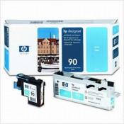 C5055A Печатающая головка № 90 голубая (...
