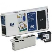 C4820A HP 80 Голова Black (printheads and printhead cleaners) для плоттеров HP DesignJet 1050с/ с+/ 1055cm/ cm+