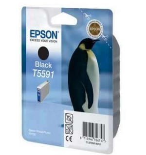 T5591 (C13T55914010) Картридж EPSON Stylus Photo RX700 Black (400стр.)