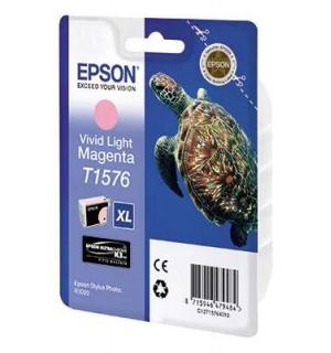 T15764010 Картридж EPSON Stylus Photo R3000 Vivid Light Magenta