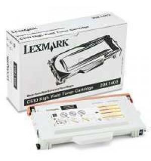 20K1403  Lexmark тонер картридж черный для C510/C510n/C510dtn (10000 стр.) (увеличенный ресурс)