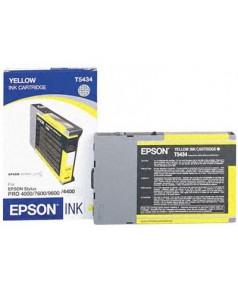 T5434 / T543400 Картридж для Epson Stylus Pro 7600/ 9600/ 4000 Yellow (110 мл.)