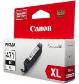 CLI-471BK XL [0346C001] Картридж Canon черный повышенной емкости для PIXMA MG5740, 6840, 7740 11мл., до 810 стр.)