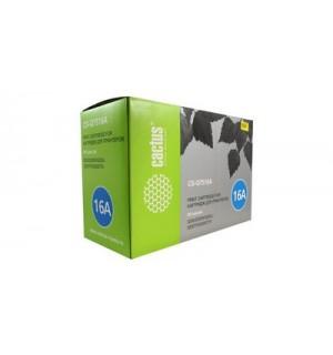 Q7516A совместимый Картридж Cactus CS-Q7516A для HP LJ 5200 Black (12000 стр.)