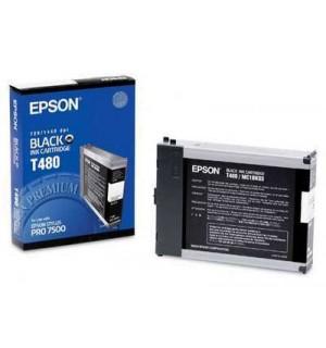 T480 / T480011 Картридж для Epson Stylus Pro 7500 Bk (110
