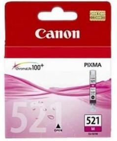 CLI-521M [2935B004] Картридж (чернильница) к Canon Pixma IP3600/4600/4700, MP540/550/560/620/630/640/980,990; MX860/ MX870   MAGENTA (236 стр.)