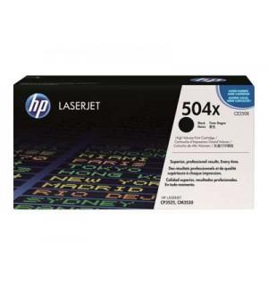 CE250X №504X Картридж для НР Color LaserJet CP3520/ CP3525/ CM3530 Black (10500стр)