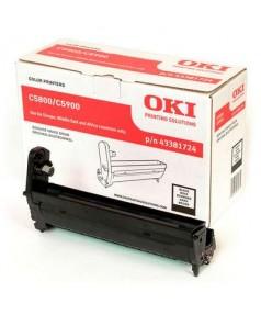 43381724 Фотобарабан OKI Черный для C5800/ 5900/ 5550 20,000 стр. A4
