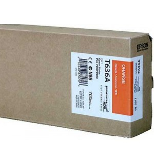 T636A / T636A00 Картридж для Epson Stylus Pro 7900/9900 Orange ( 700 ml )