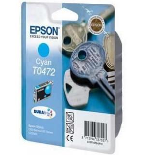 T0472 / T04724A Картридж для Epson Stylus C63/C65/C83, CX3500/CX6300 Cyan (250стр.)