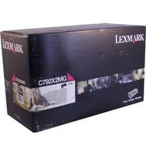 C792X2MG Принт-картридж Lexmark C792  Magenta Extra High Yield Print Cartridge (20K)