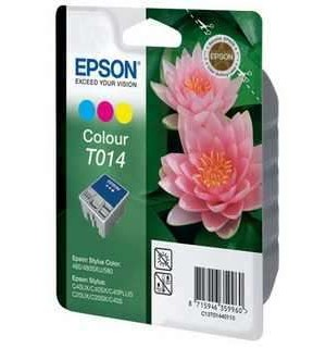T014 / T014401 Картридж для Epson Stylus Color 480, C20SX/ C40UX цветной (150 стр.)