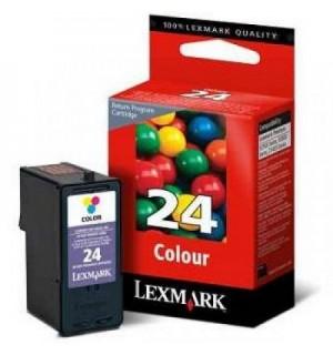 18C1524E №24 Картридж цветной для Lexmark Х3530, X3550, Х4530, X4550, Z1410, Z1420