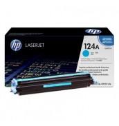 Q6001A HP 124A Картридж для HP Color LJ 1600/ 2600n/ 2605/ CM1015/ CM1017 MFP. Cyan (2000 стр.)