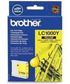 LC-1000Y Картридж для Brother DCP130C/ 330С/ 540, MFC-240C/ 440CN/ 465CN/ 660CN/ 885CW/ 5460CN/ 5860CN Yellow