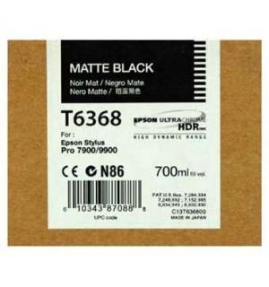 T6368 / T636800 Картридж для Epson Stylus Pro 7700/7890/7900/9700/9890/9900 Matte Black  ( 700 ml )