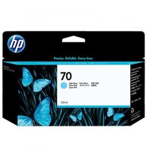 C9390A HP 70 Картридж Light Cyan для HP DesignJet Z2100/ Z3100/ Z3200 (130 мл.)