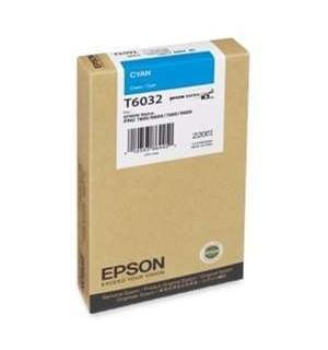 T6032 / T603200 Картридж для Epson Stylus Pro 7800/ 7880/ 9800/ 9880, Cyan (220 мл.)