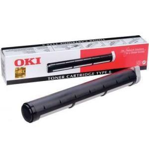 01107201/00079801 Тонер-туба к OkiPage 6W/ 8W/ 8P/ OkiFax 4500; MB 206/ 508 TYPE 6  (2000 стр.)