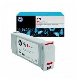 B6Y08A/ CE038A HP 771 Картридж хроматический красный для плоттера HP DesignJet Z6200, Z6800 (775 ml)