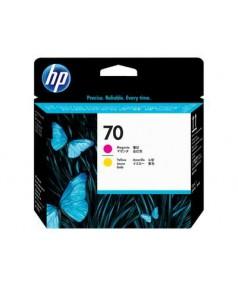 C9406A HP 70 Печатающая головка Magenta & Yellow для Hewlett Packard DesignJet Z2100/ Z3100/ Z3200/ Z5200/ Z5400, PhotoSmart Pro B8850/ B9180