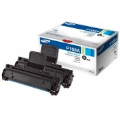 MLT-P108A Samsung Двойная упаковка черно...