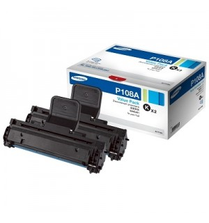 MLT-P108A Samsung Двойная упаковка черного тонер-картриджа MLT-D108S