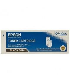 S050614 Тонер-картридж для Epson AcuLaser C1700/ C1750N, черный (2,2K)