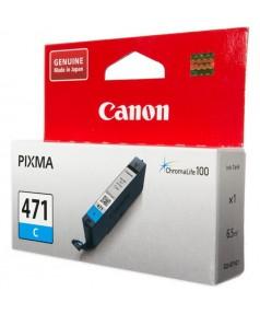 CLI-471C [0401C001] Картридж Canon голубой для PIXMA MG5740, 6840, 7740 (7мл., до 345 страниц)