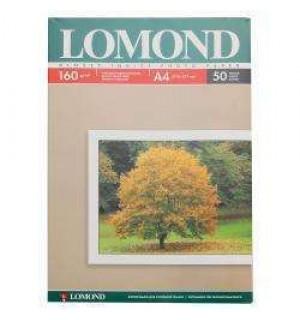 160 Бумага LOMOND A4 GLOSSY 50 л. 160 г/ м2 глянцевая односторонняя [0102055] вес: 0,615кг.