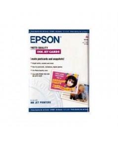 S041054 Бумага Epson Photio Quality Ink Jet Card матовая A6 (50 л.)