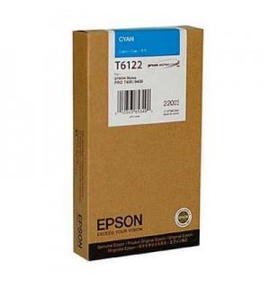 T6122 / T612200 / C13T612200 Картридж для Epson Stylus Pro 7400/ 7450, Pro 9400/9450 Cyan (220 мл.)