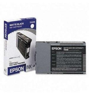 T5438 / T543800 Картридж для Epson Stylus Pro 4000/ 4400/ 4800/ 7600/ 9600 Mate Black (110 мл.) (C13T543800)