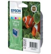 Уцененный цветной картридж Epson T027401 для Epson Stylus Photo