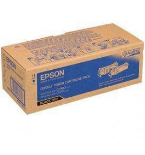 S050631 Тонер-картридж для Epson AL-C2900/CX29 --Black-Double (2х3,000 стр.)