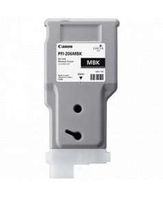 PFI-206MBk (Matte Black) [5302B001] Картридж с чернилами для плоттера Canon iPF6400/6450 (300 мл)