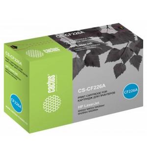 CF226A Совместимый картидж Cactus CS-CF226A 26A Картридж для HP LaserJet M402d/M402n/M426dw/M426fdn/M426fdw (Ресурс: 3100стр.)